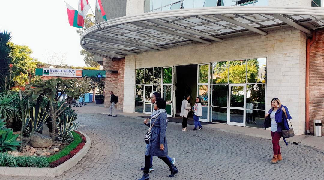 Entrée de COSOURCING BPO Comptablilité à Antanarivo