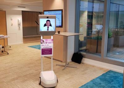 Le robot de téléprésence mobile Beam Cosourcing au Grant Thornton Advisory Days